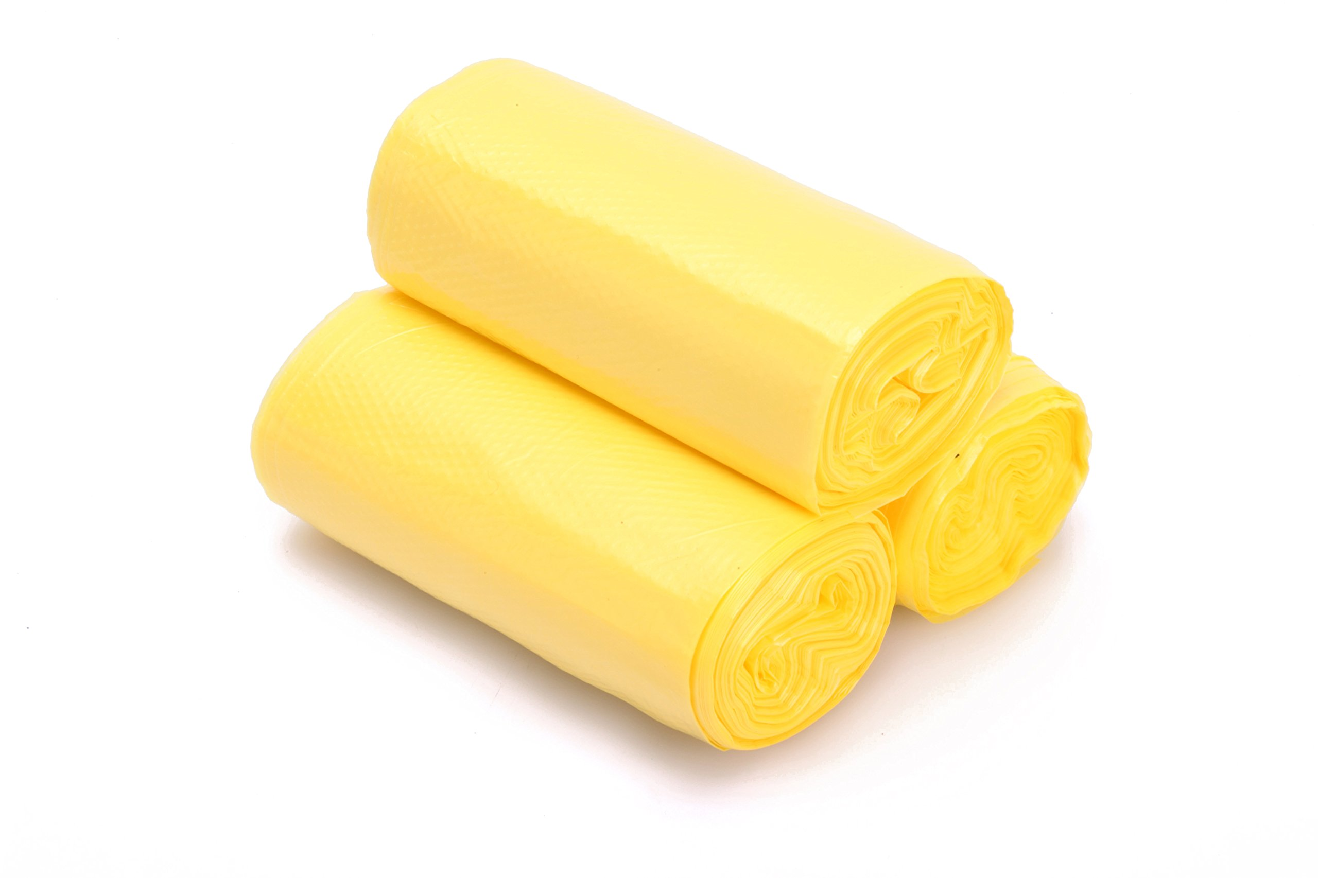 1.2-2 Gallon Small Trash Bags, office Wastebasket Trash Bags yellow 180 Counts by NO.1987 commerce