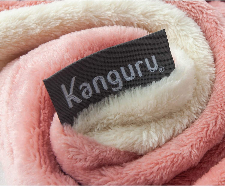 Kanguru Kids Wearable Blanket with Sleeves Fun Girl Gifts for Christmas and Birthday