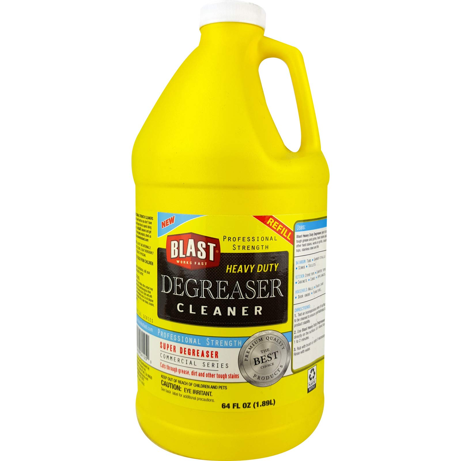 (Pack of 6) Blast Degreaser Cleaner, 64oz by Blast Degreaser