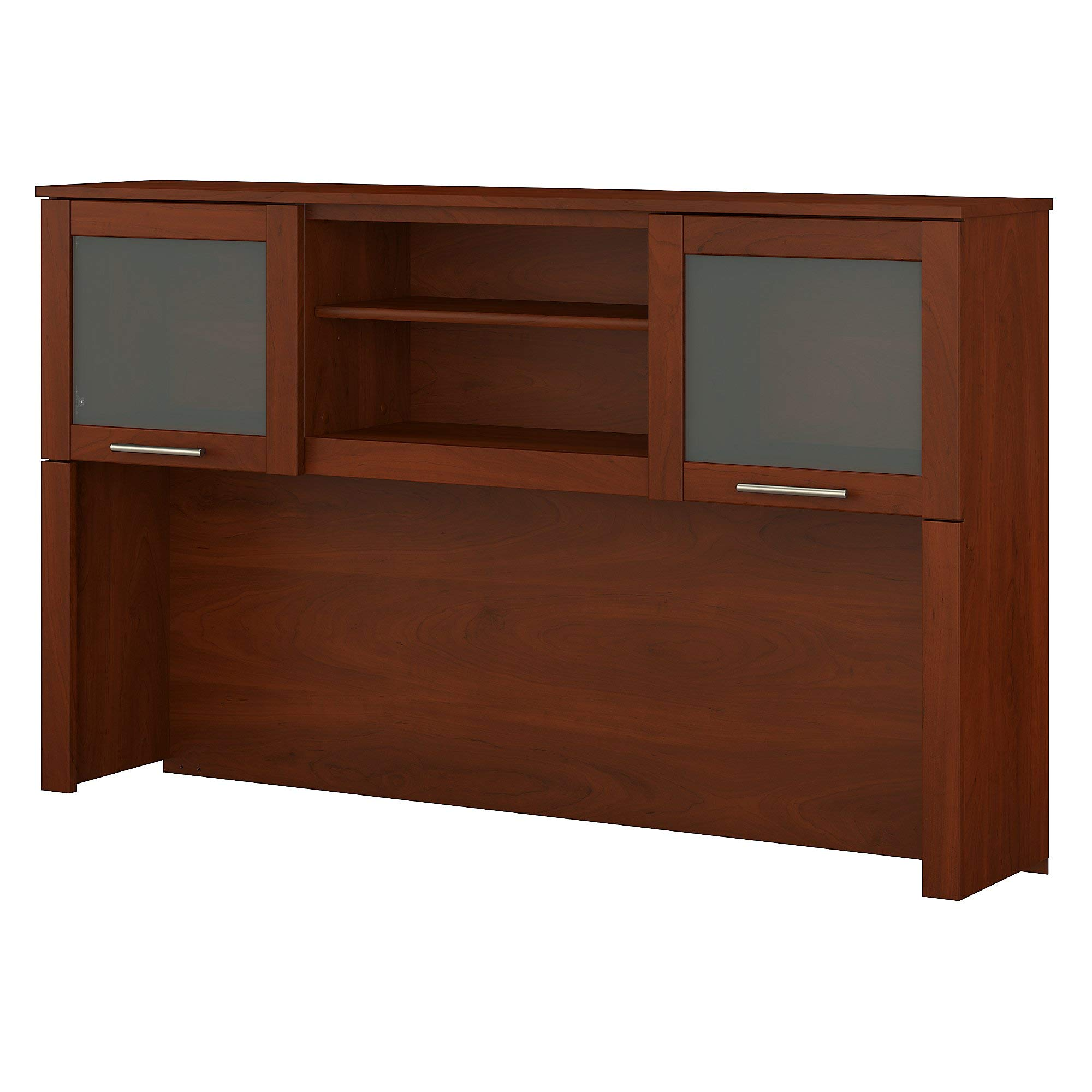 Bush Furniture Somerset 60W Hutch for L Shaped Desk in Hansen Cherry by Bush Furniture