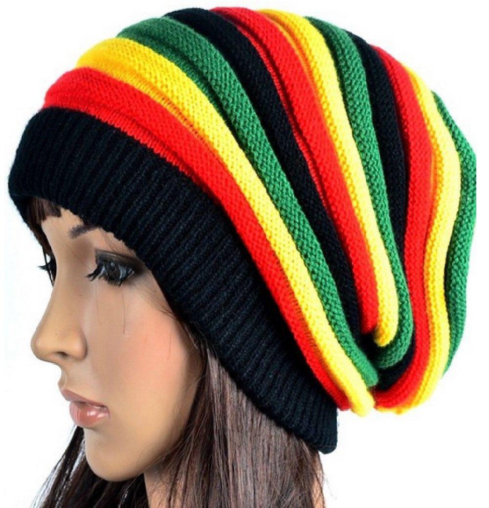 Amazon Sp Charming Bob Marley Jamaican Rasta Hat Multi Colour