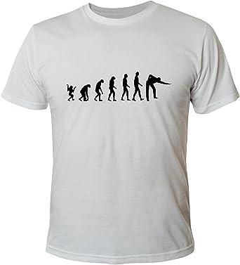 Shirt T Evolution Homme Shirts Pour Billards Xxl S DH2W9EYI