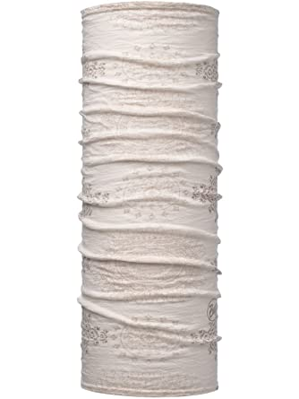 61bcbaae2f5 Buff Mahalia Snow Lightweight Merino Wool - Patterned Multifunctional  Headwear  Buff  Amazon.co.uk  Clothing