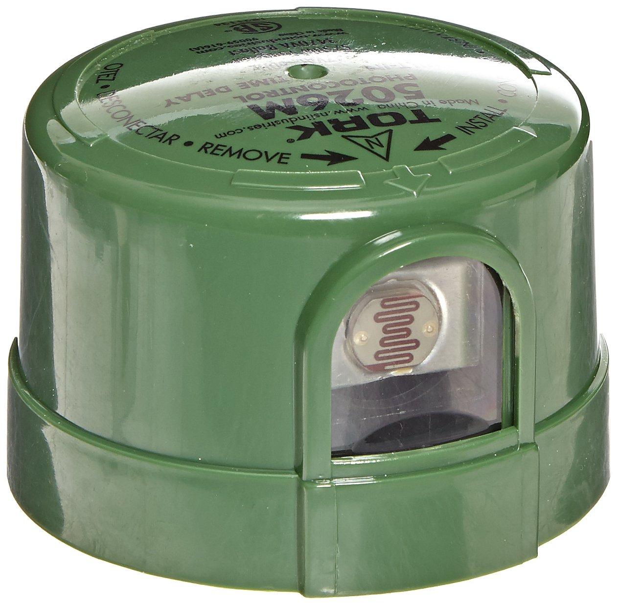 NSI Industries 5026M Delayed Response Utility Grade MOV Surge Arrestor Photocontrol, 347 VAC Voltage