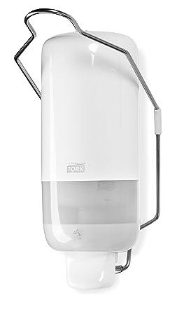 Tork 560100 Dispensador para jabón líquido y en spray con palanca de codo / Dosificador Elevation