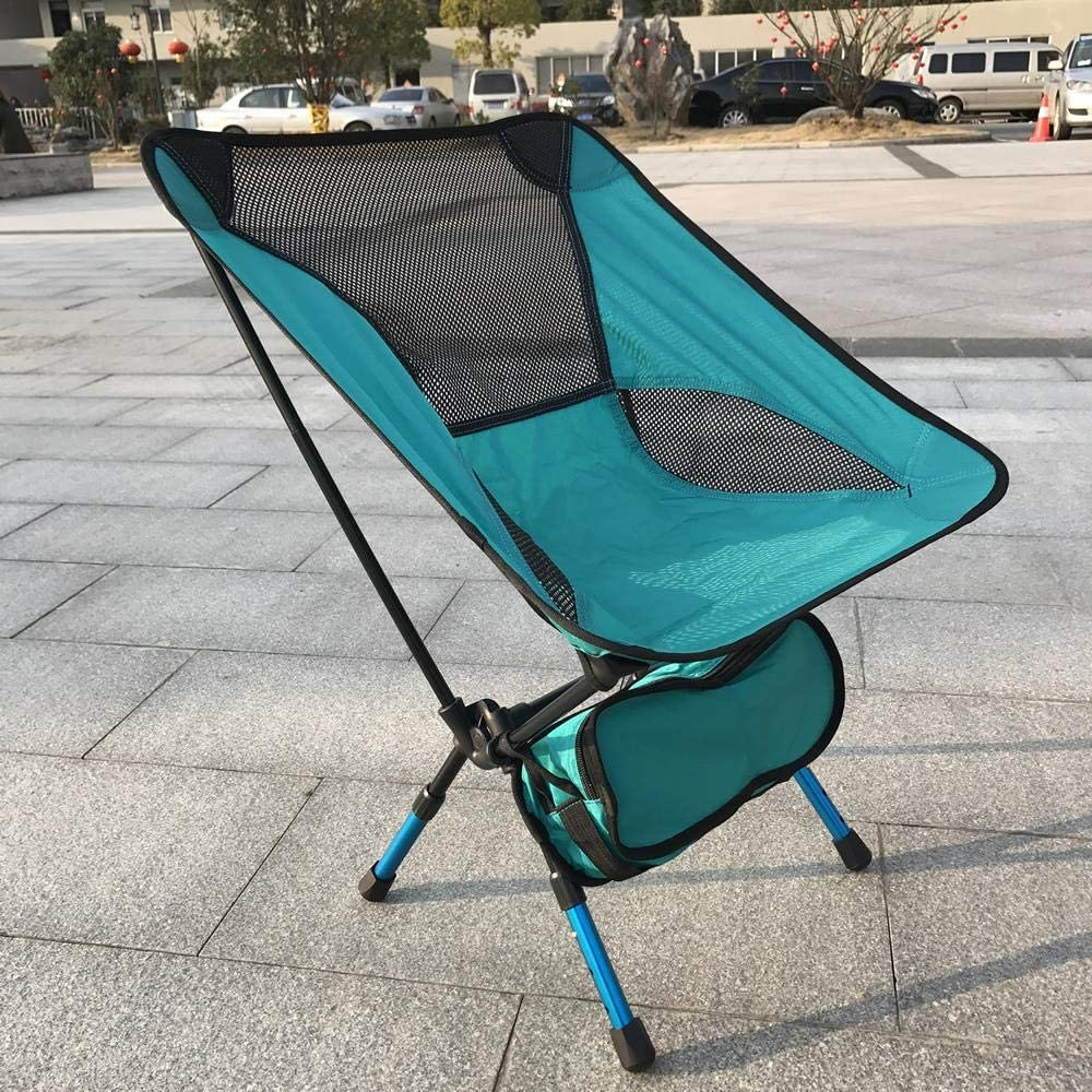 Miner Portable Light weight Folding Camping Stool Chair Seat For Fishing Festival Picnic BBQ Beach With Bag Red Orange Blue,blue chair Yellow Chair