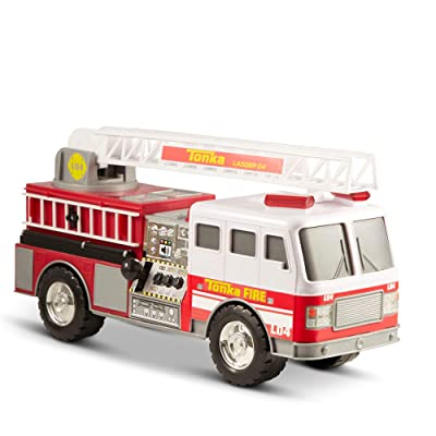 Tonka Mighty Motorized Fire Truck: Toys & Games