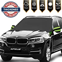 $25 » AUTOCLUB Car Windshield Snow Cover,3-Layer Protection&Double Side Design,Snow, Ice,…