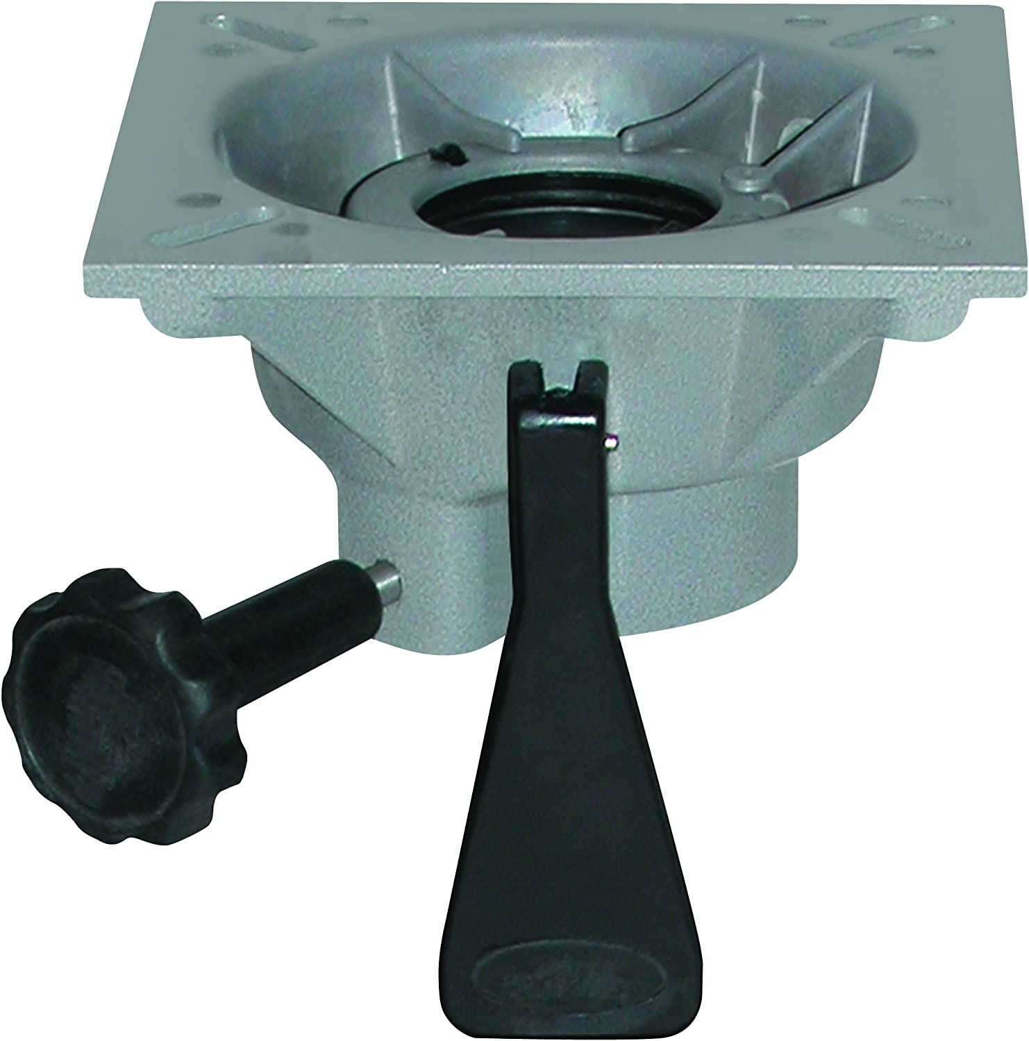 "Wise 8WP95 Cast Seat Mount Spider, Fits 2 3/8"" Pedestal,Aluminum"