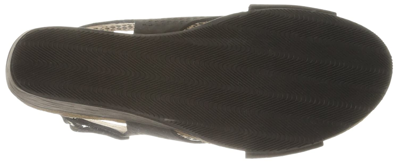 Sudini B01BN20NV4 Women's Britt Wedge Sandal B01BN20NV4 Sudini 6 B(M) US|Black 6ab23c