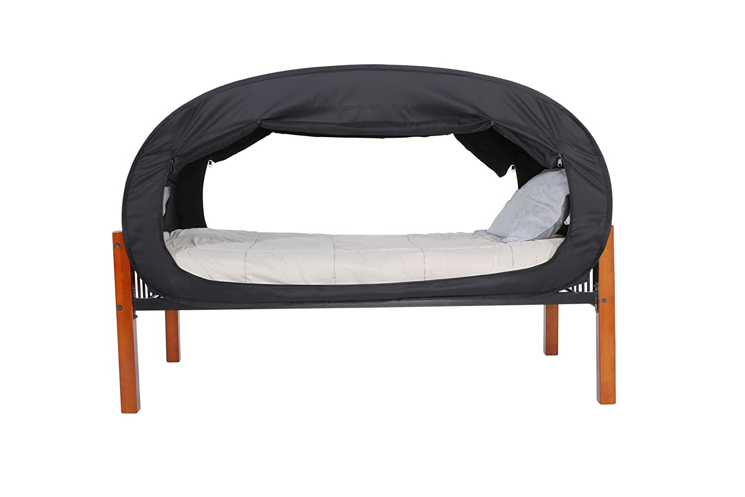 sc 1 st  Amazon.com & Amazon.com: Privacy Pop Bed Tent (Twin Bunk) - BLACK: Toys u0026 Games