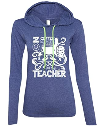 a53b610c No Coffee Workee for This Teacher T Shirt, Become A Teacher T Shirt - Anvil