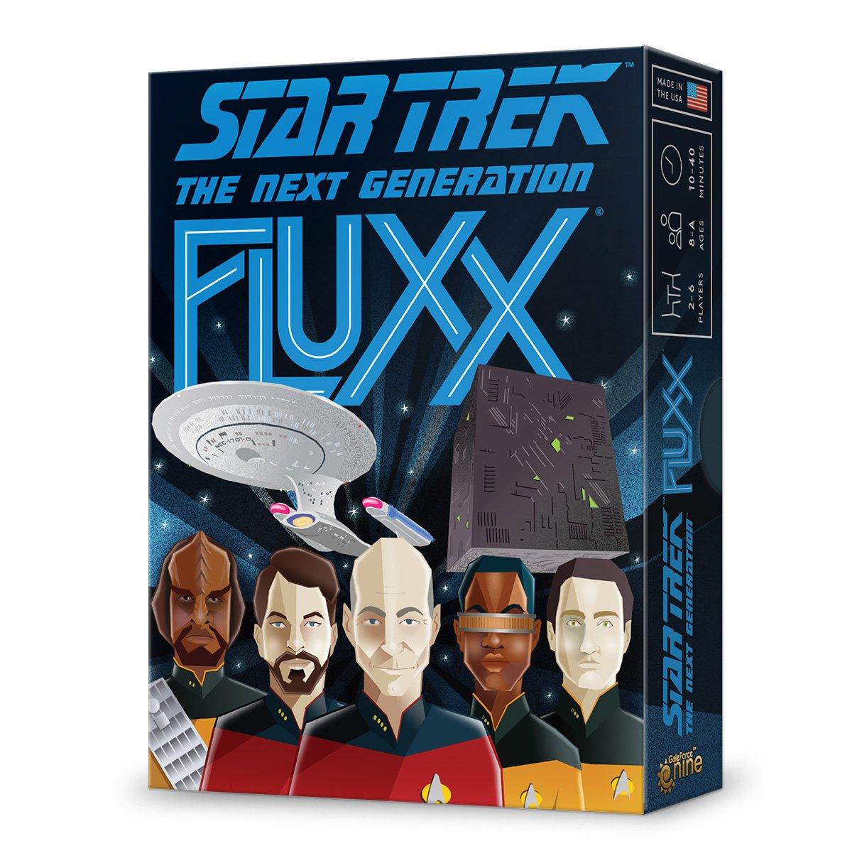 Unbekannt Looney Labs LON00086 Star Trek: Next Generation Fluxx, Mehrfarbig Pegasus Spiele LOO-086