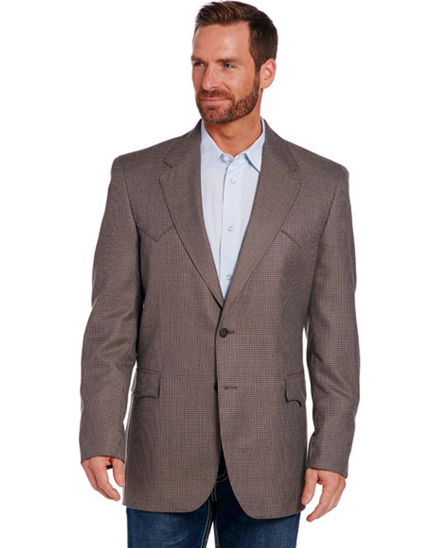 Circle S Men's Beige Lubbock Sportcoat Tall Beige/Khaki 42 LNG