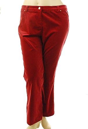 Sutton Studio Women's Bootcut Velvet Jeans at Amazon Women's Jeans ...