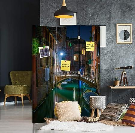 Feeby Separador con Corcho Venecia 3 Paneles 360° Arquitectura ...