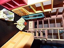 Robotime Dollhouse Kit Miniature Diy Library House Kits