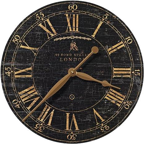 Uttermost Bond Street 18 Inch Wall Clock Home Kitchen