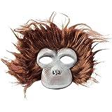 Rubie's Adult Plush Chimp Mask - Adult Std.
