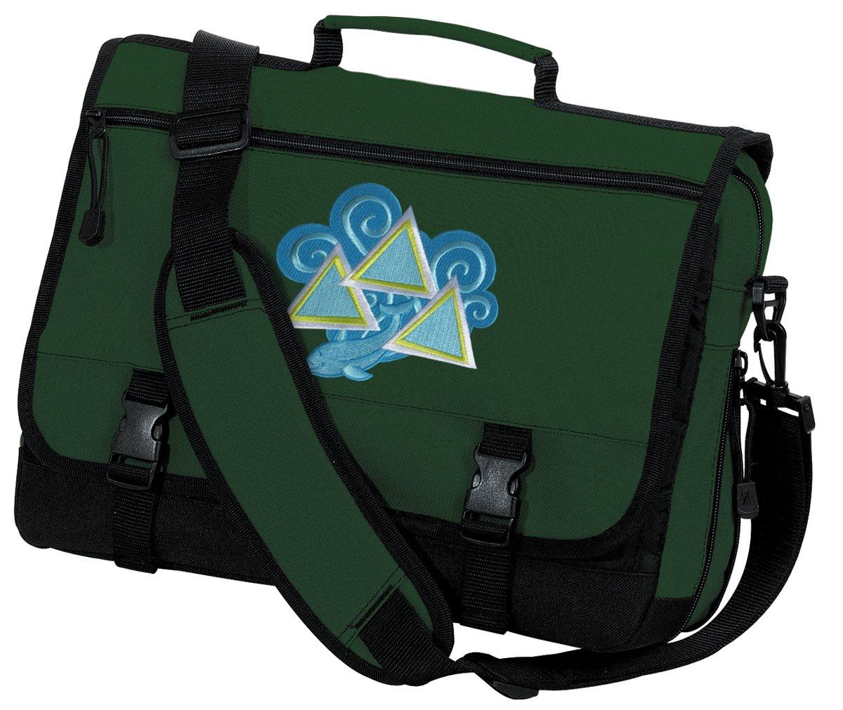 Tri Delt Laptop Bag Tri Delt Sorority Messenger Bag