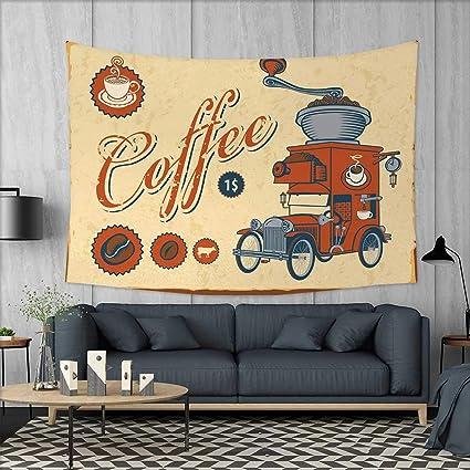 Amazon.com: Anniutwo Retro Art Wall Decor Artsy Commercial Design of ...