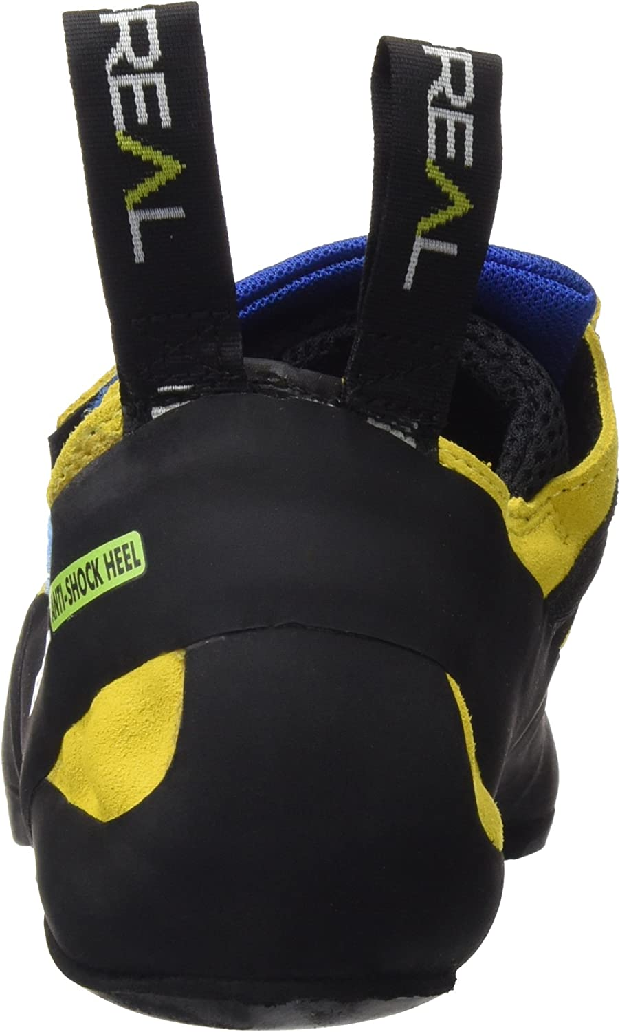 Boreal Climbing Shoes Mens Silex Leather 12 Black Yellow Blue 11410
