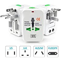 MX TRAVEL ADAPTOR WITH UNIVERSAL SOCKET - Universal Adapter