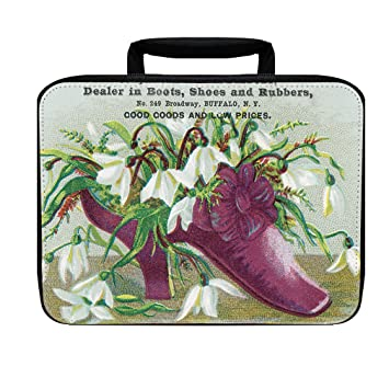 Amazoncom Purple Slippers Old Time Picture Insulated Lunch Box Bag