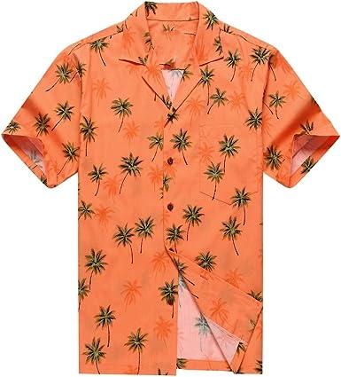 Hecho en Hawaii Camisa Hawaiana de los Hombres Camisa ...
