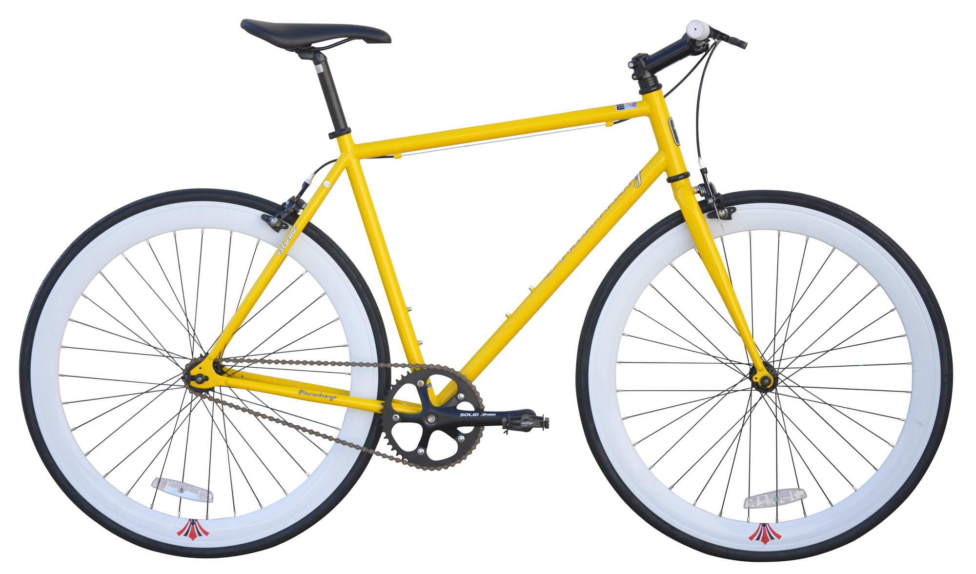 Fixie 700C Extreme 54cm Firmstrong - Yellow