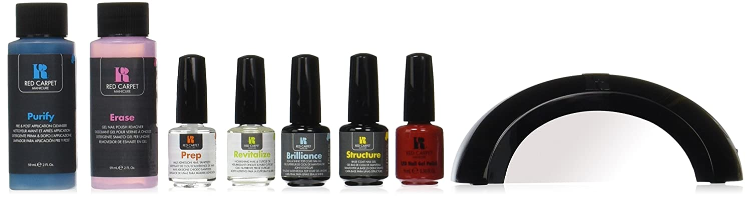 Red Carpet Manicure Polish Pro Gel Starter Kit: Amazon.co.uk: Beauty