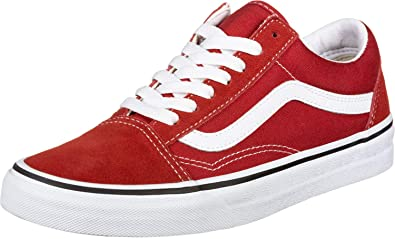 Vans Old Skool Sneaker Herren Rot Sneaker Low: Amazon.de: Schuhe ...