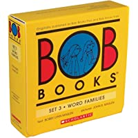 Bob Books -Word Families Box Set | Phonics, Ages 4 and up, Kindergarten, First Grade (Stage 3: Developing Reader)