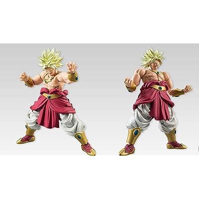 Bandai Shokugan Shodo Part 5 Dragon Ball Broly (Shouting Version) Action Figure: Toys & Games