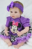 Terabithia 22 Pulgadas Rare Verdaderamente Adorable Collectible Reborn Baby Dolls Look Real