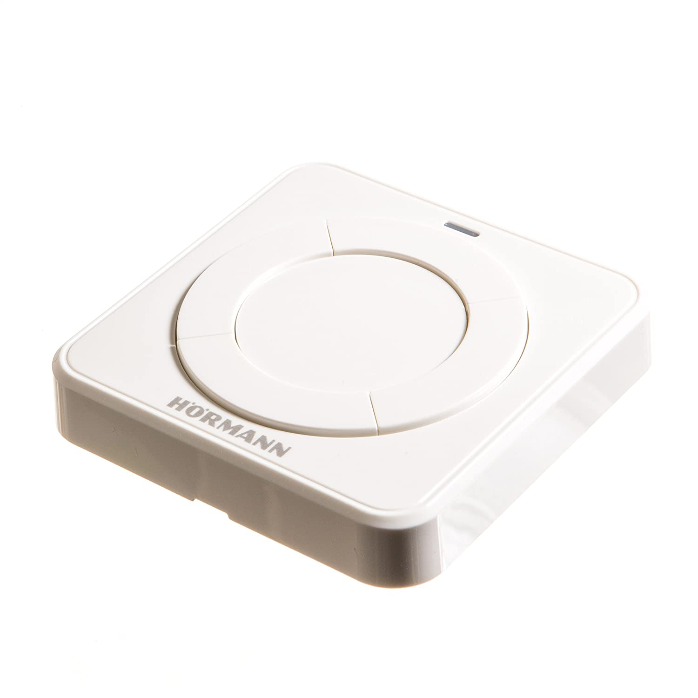Hö rmann Fit 4 BS Wireless Internal Button 868 MHz Transmitter –  Remote Sensor –  Wall Switch –  Smart Home Hörmann