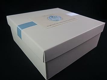 Grande Memory Box/Caja de recuerdos, Baby, Boy, Girl, Twins, regalo para bebé: Amazon.es: Hogar