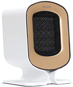 BLAUX Heatcore Electric Portable Space Heater - 1200W Portable Heater for the Home and Small Desk Heater for Office | Small Ceramic Heater for Indoor Use | Portable Electric Heater with Air Filter