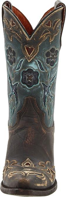 Dan Post Childs Vintage Bluebird Snip Toe Boot 8.5