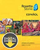 Rosetta Stone Spanish (Latin America) Level 1-5 Set [Download]