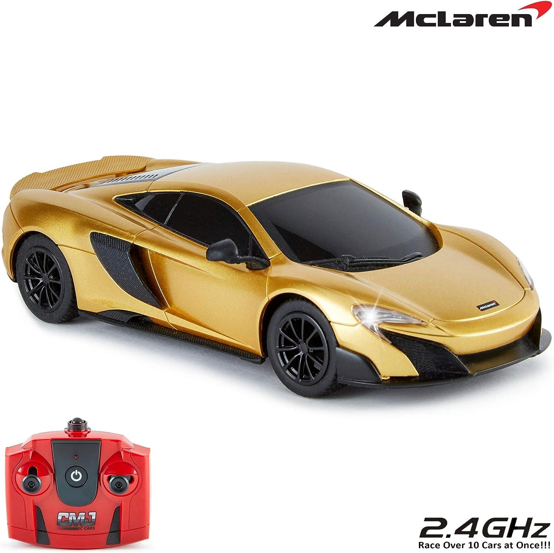 CMJ RC Cars ™ McLaren 675LT Coche de control remoto con licencia ...