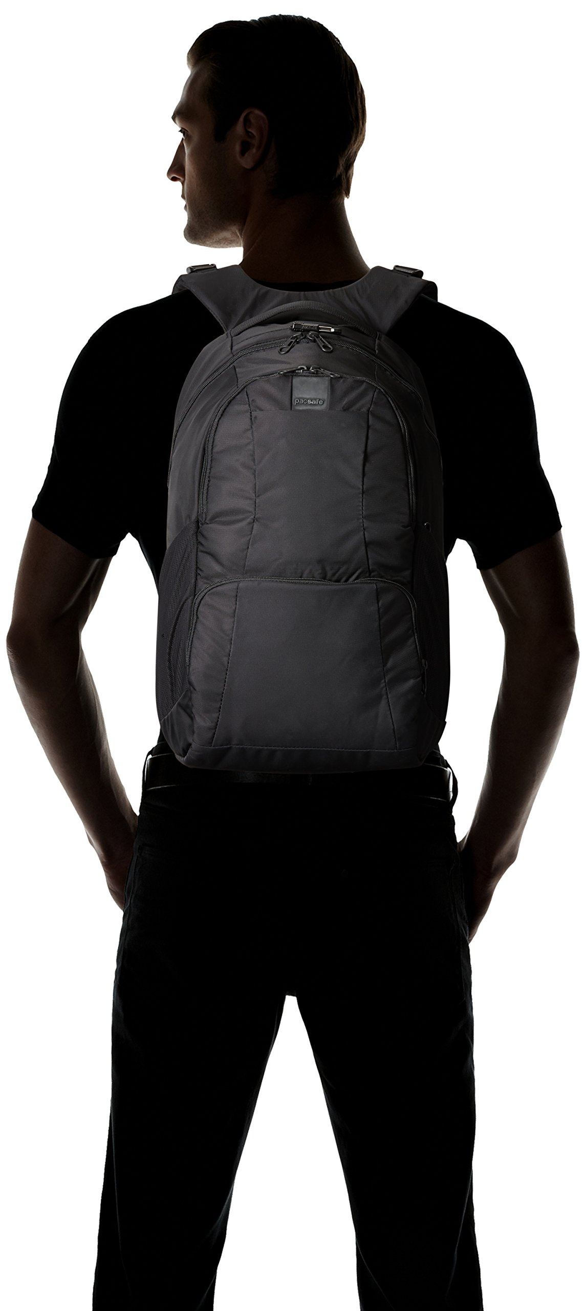 Pacsafe Metrosafe LS450 Anti-Theft 25L Backpack, Black by Pacsafe (Image #7)