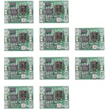 FICBOX 10 Pack Power Module Adjustable MP1584EN DC DC 3A Power Step-down Descending Output Module Converter 24V To 12V 9V 5V 3V