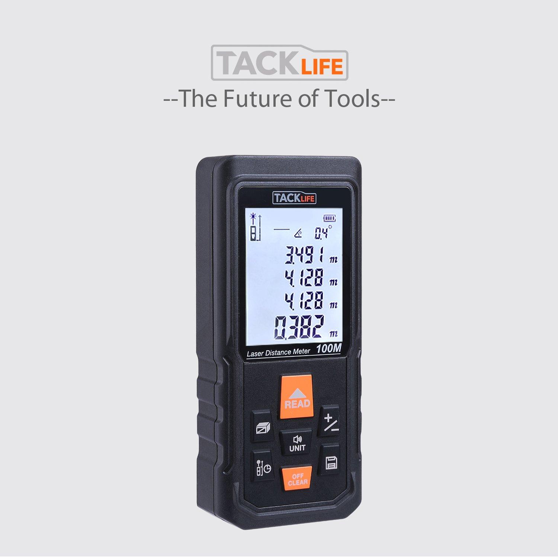 100/Laser Distance M/ètre Tacklife S3