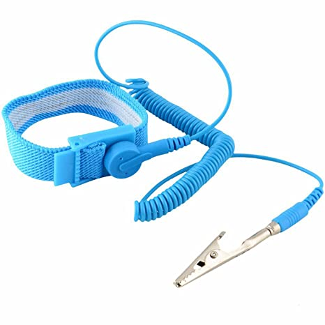 Pulsera antiestatica Ajustable Pinza Correa Cinta Anti Estatica PC Chip 2198