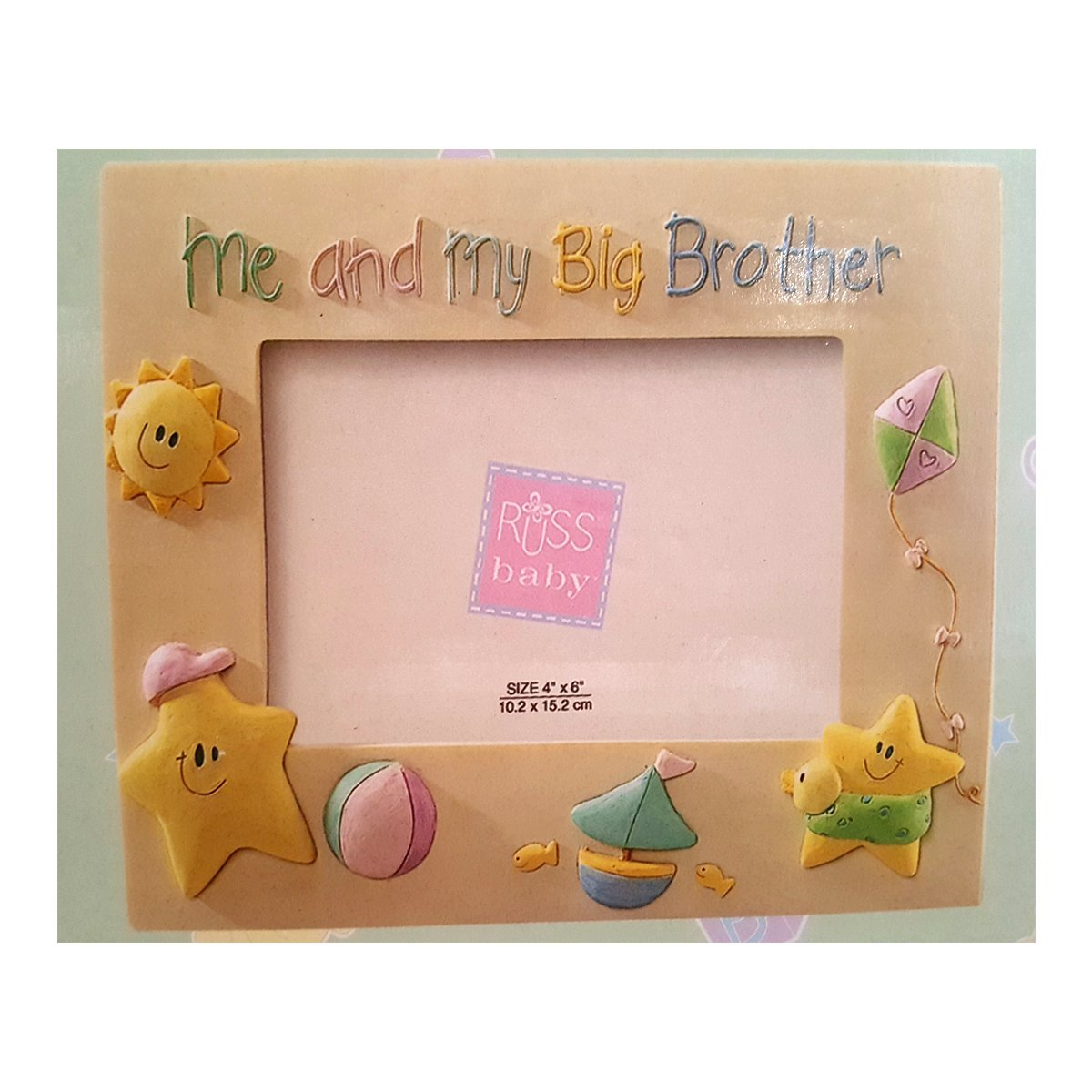 Russ Berrie & Co. Skribbles Photo Frame Me And My Big Brother ...