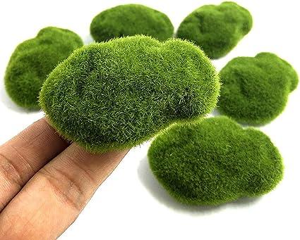 Amazon Com Khannika Fake Moss Decor Green Moss Balls Moss