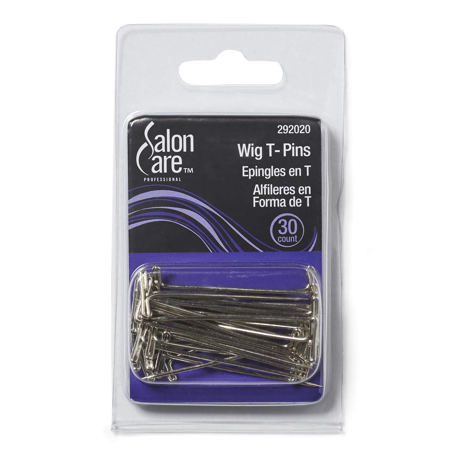 Salon Care Steel Wig T Pins