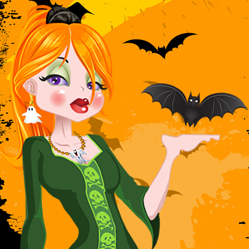 Dress Up Halloween Girl (Halloween Costume Winners)