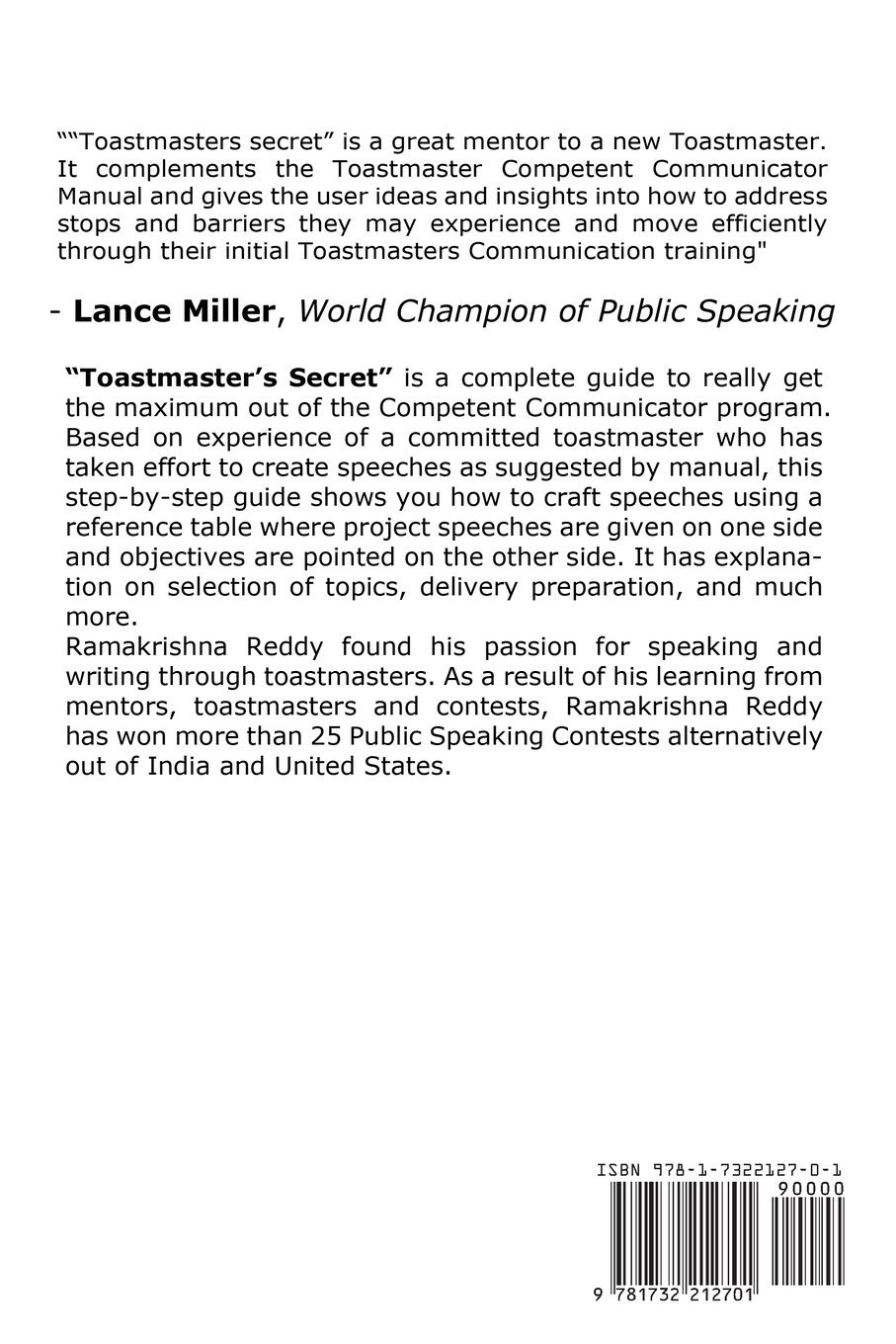 Toastmasters Secret A Practical Guide To Become A Competent